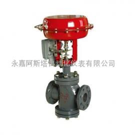 专业生产ZJHN气动薄膜双座调节阀-阿斯塔阀门