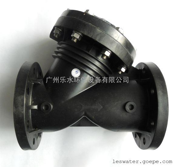 洁明y型隔膜阀塑料隔膜阀液动气动隔膜阀dn100图片
