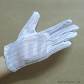 防静电手套,双面防静电,无尘涤纶长丝手套