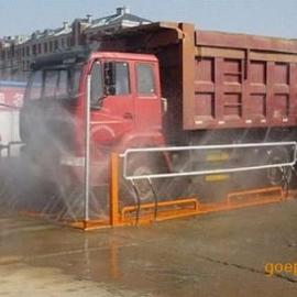 沈阳地埋式轮胎自动清洗机 渣土车等重载车辆轮胎底盘冲洗平台