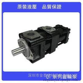 代理销售内啮合齿轮泵住友油泵QT52-D50F