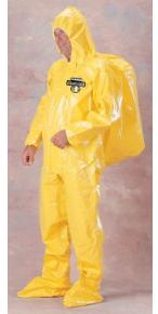 凯麦斯4 B级轻便式呼吸器内置型连体防化服