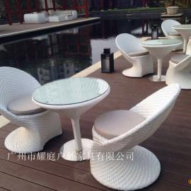 户外编藤桌椅、户外编藤家具、户外编藤桌子、户外编藤椅子