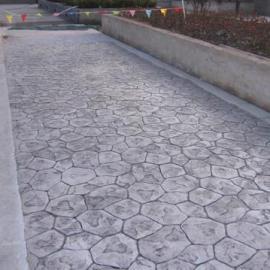 供应山西地区景观路面工程-压模地坪