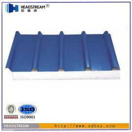 彩钢岩棉夹芯板厚度_50-150彩钢岩棉夹芯板价格/厂家