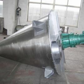 双螺旋锥形混合机工作原理