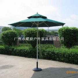 海口双层中柱木伞、海口庭院伞、海口岗亭中柱伞
