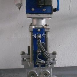 PZ673F/X/H气动浆闸阀,不锈钢浆闸阀
