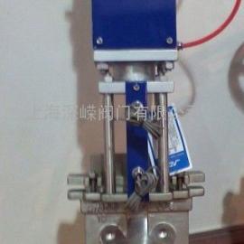 电控气动刀闸阀、气动刀型耐磨闸板阀