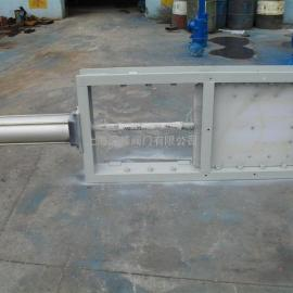 气动不锈钢螺旋闸门、气动闸板阀