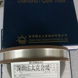 供应双油轮研磨机专用TDC钻石砂轮台湾原装