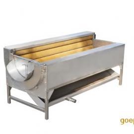 鲜土豆脱皮机清洗一体机