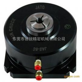 热销JAS-5C台湾朝铨固定式气动夹头