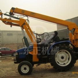 新型挖坑机,拖拉机挖坑机,种树挖坑机,电线杆挖坑机