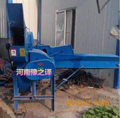 河南南阳秆揉丝粉碎机桉树皮揉丝机 9z-4.5型揉丝机试机