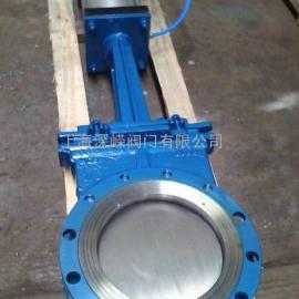 气动刀型浆闸阀、不锈钢气动闸板阀