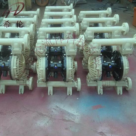 氢氟酸气动隔膜泵