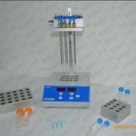 12位干式氮吹仪,氮气吹扫仪,JTN100-1
