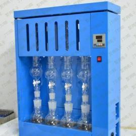 智能型脂肪测定仪,四联索氏提取器,JT-SXT-4B