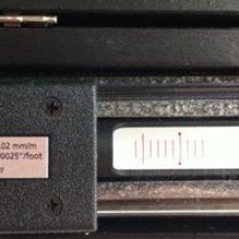 德国ROCKLE长条形气泡式刻度水平仪
