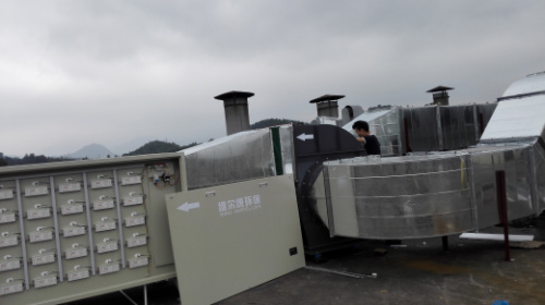 惠州废气治理WEK-UV-5000风量UV光催化喷漆废气