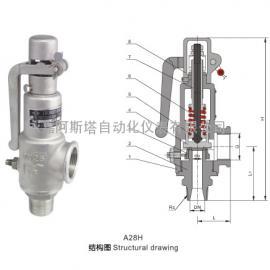 专业生产A28H全启式安全阀-阿斯塔阀门
