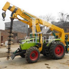 拖拉机挖坑机,多功能挖坑机郑州东正品牌挖坑机是您最值得信赖的