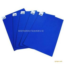 无尘室出入口粘尘地垫  蓝色PE粘尘地胶垫