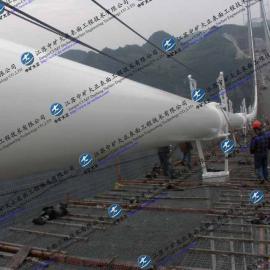 悬索桥缆索防腐施工