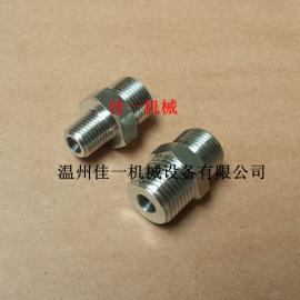 定做不锈钢精密仪表接头、变送器专用接头、外丝转换接头