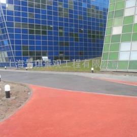 彩色混凝土路面|透水地坪�S媚z�Y��|直�N透水路面�z�Y料�r格