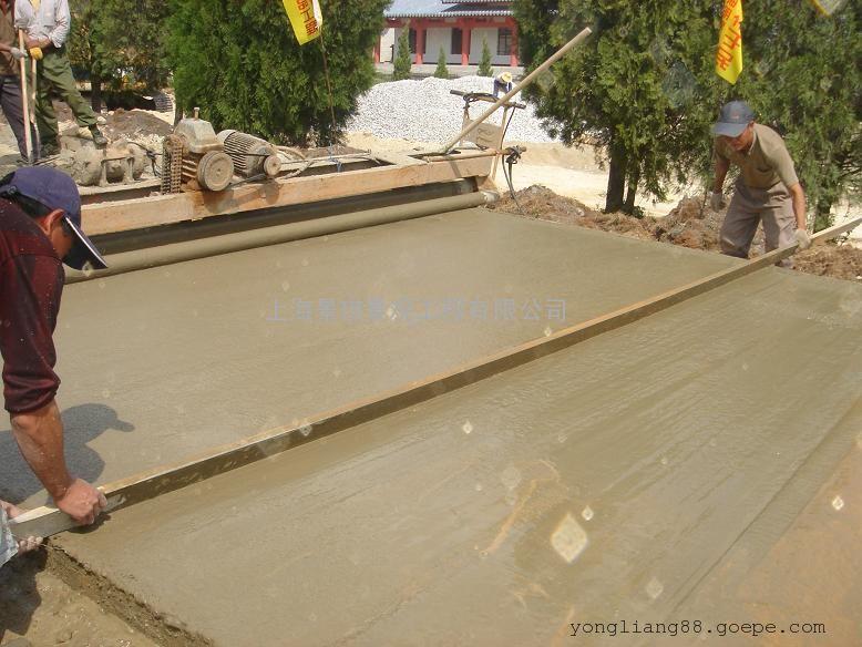 混凝土仿木地面材料