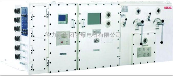操作柱和防爆接线箱等组合,可在电压380v的三相交流50hz的配电系统中图片