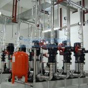 建筑楼层低区中区高区分区供水设备_全自动二次变频给水设备