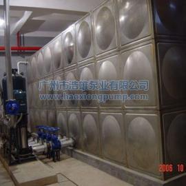自来水全自动启停二次增压供水设备_不锈钢恒压变频给水设备