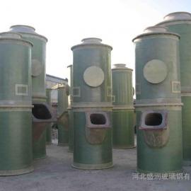 锅炉玻璃钢脱硫塔 玻璃钢脱硫除尘器 电厂脱硫脱硝除尘工程
