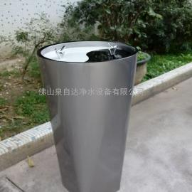 户外公共直饮水台 广场|园林|展会公共免杯天圆地方直饮水机