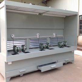 HHT3000吸尘打磨台 台式砂轮机打磨抛光粉尘吸尘打磨台