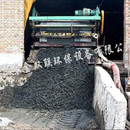 污泥脱水机、压滤机使用中