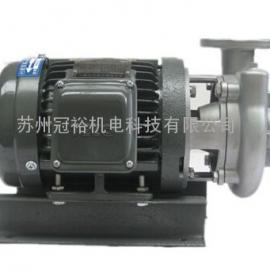 台湾东元不锈钢卧式离心泵高性能进口耐高温GH-50-5-S