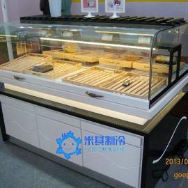 米其面包展示柜,面包中边岛柜,蛋糕柜厂家直销