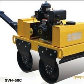 山东奔马小型 振动压路机 手扶式双轮压路机 柴油机