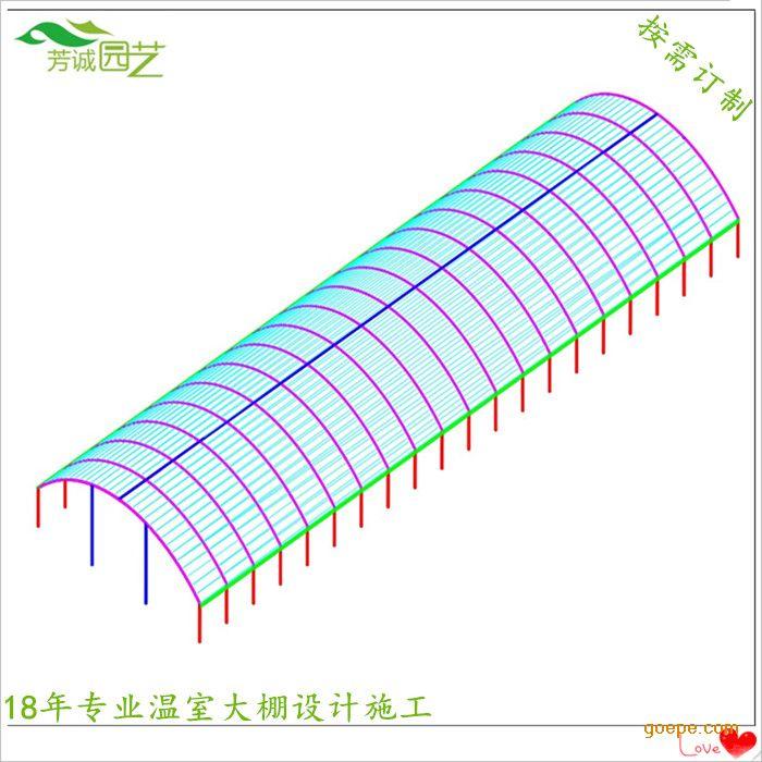 单栋4000平米框架结构工程图