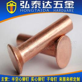 供应GB867沉头铆钉 沉头不锈钢铆钉 沉头铝铆钉 沉头半空心铆钉