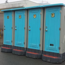 玻璃钢移动厕所 玻璃钢底座打包厕所  钢架水冲直排厕所
