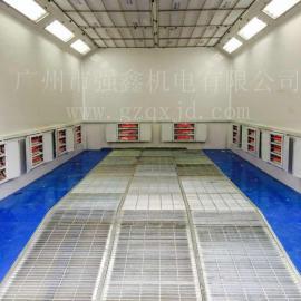 厂家供应电加热环保汽车喷烤房,无尘汽车喷烤漆房