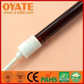 红宝石碳纤维灯管 半镀白碳素加热管