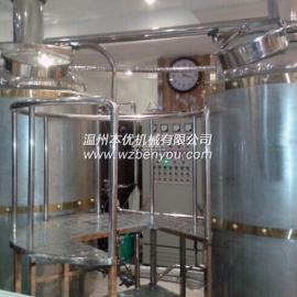 酿酒设备啤酒糖化系统麦芽糖化设备糖化锅 糊化锅煮沸锅