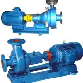 卧式管道污水泵
