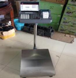 石家庄100公斤不干胶标签打印电子台秤